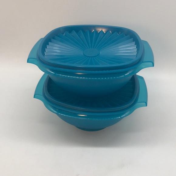 Tupperware Servalier Bowl Set 2 Pieces